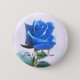 The Blue Rose Coven 2 Inch Round Button