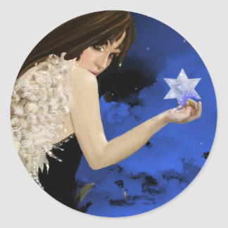 The Blue Star! Round Sticker