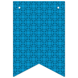The Blue  Vintage Kaleidoscope Bunting Flags
