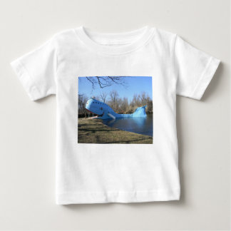 The Blue Whale of Catoosa Baby T-Shirt