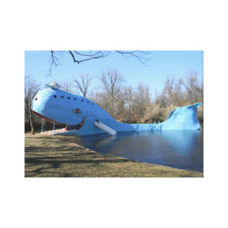 The Blue Whale of Catoosa Canvas Print