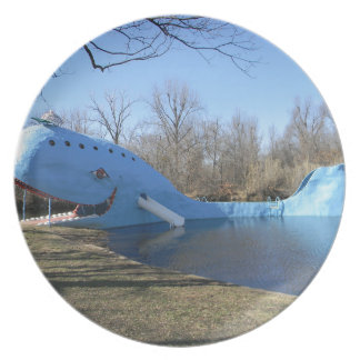 The Blue Whale of Catoosa Plate