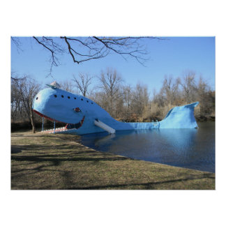 The Blue Whale of Catoosa Poster