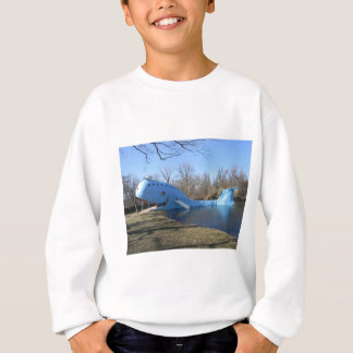 The Blue Whale of Catoosa Sweatshirt