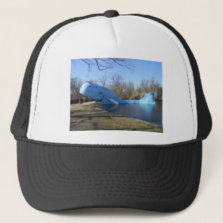The Blue Whale of Catoosa Trucker Hat