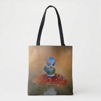 The Bluebird of Happiness Tote Bag