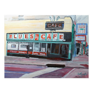 The Blues Cafe  in Memphis Photo