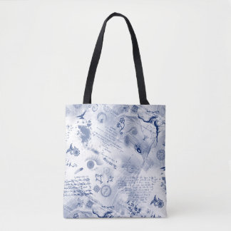 The Blues Designer Tote by Julie Everhart