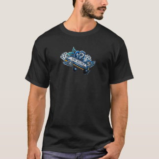 The Blues Harmonica Flash Art T-Shirt