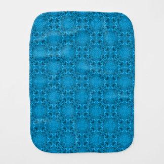 The Blues Kaleidoscope   Burp Cloth