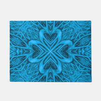 The Blues Kaleidoscope Door Mat