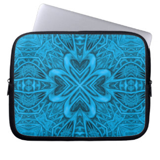 The Blues Kaleidoscope Neoprene Laptop Sleeves