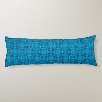 The Blues Kaleidoscope Pattern Body Pillow
