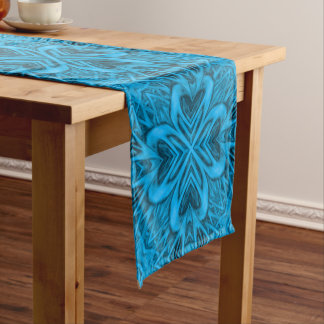 The Blues Kaleidoscope Table Runner