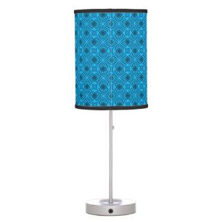 The Blues Kaleidoscope   Vintage Table Lamp