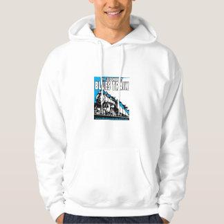 The Blues Train logo hoodie