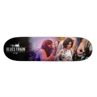The Blues Train Skateboard