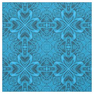 The Blues Two Kaleidoscope  Fabric, 7 styles Fabric