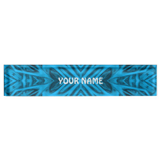 The Blues  Vintage Desk Nameplate
