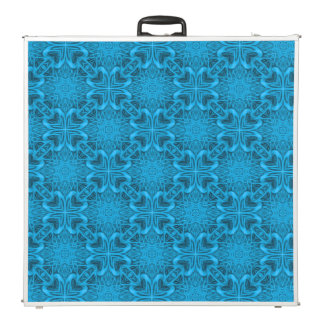 """The Blues Vintage Kaleidoscope  96""""  Pong Table"""