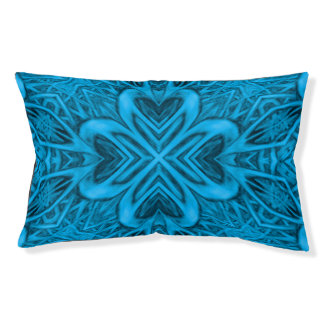 The Blues Vintage Kaleidoscope Dog Bed
