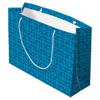 The Blues Vintage Kaleidoscope  Gift Bags