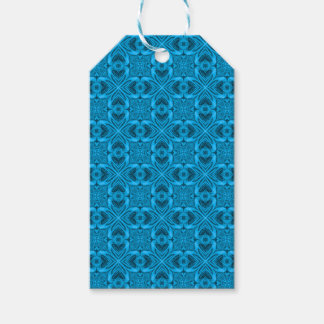 The Blues Vintage Kaleidoscope  Gift Tags