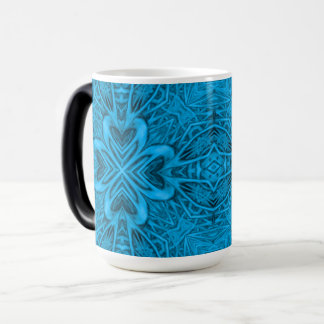 The Blues Vintage Kaleidoscope  Morphing Mug