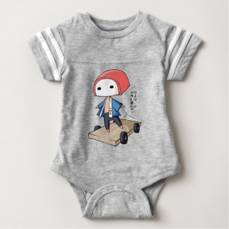 The bo of high class densely it is so English Baby Bodysuit