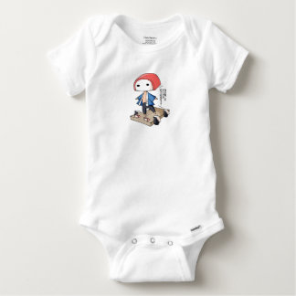 The bo of the veteran business densely it is so baby onesie