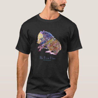 The Boar Hare - Mythical Creature in Watercolor T-Shirt