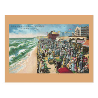 The Board Walk and Brighton Casino Postcard