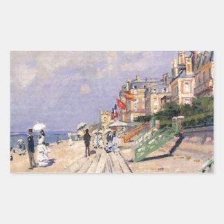 The Boardwalk at Trouville Claude Monet
