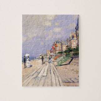 The Boardwalk at Trouville Claude Monet Jigsaw Puzzle