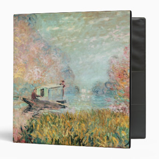 The Boat Studio on the Seine, 1875 3 Ring Binders