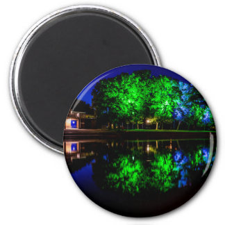 The Boathouse 2 Inch Round Magnet