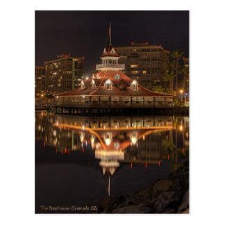 The Boathouse, Coronado California Postcard