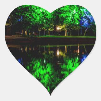 The Boathouse Heart Sticker