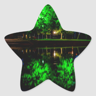 The Boathouse Star Sticker