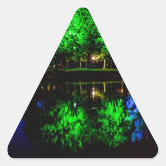 The Boathouse Triangle Sticker