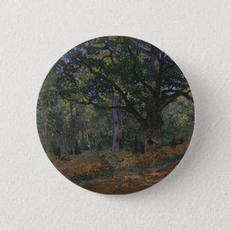 The Bodmer Oak, Fontainebleau Forest 2 Inch Round Button