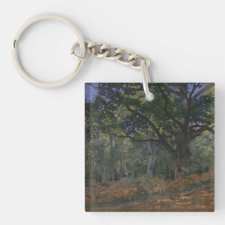 The Bodmer Oak, Fontainebleau Forest Keychain