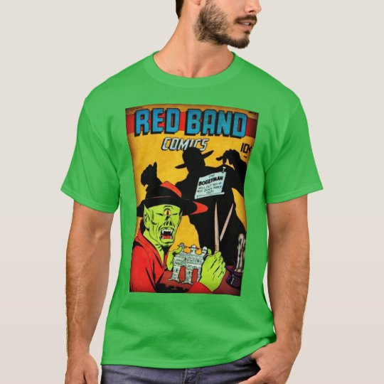 The Bogeyman Vintage Golden Age Comic Book T-Shirt