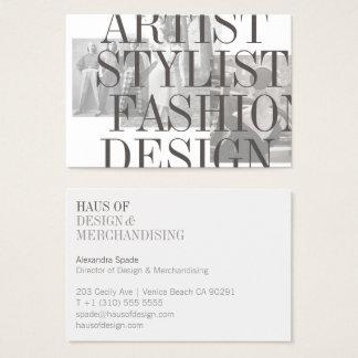 The Bold and Vintage Stylist Designer LARGE Card