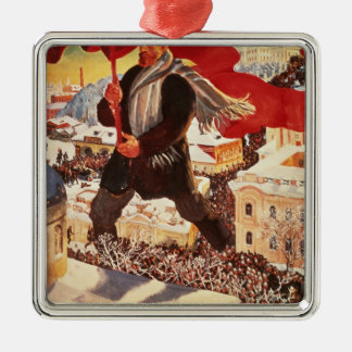 The Bolshevik, 1920 Metal Ornament