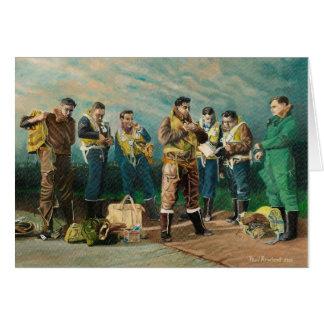 The Bomber Boys - Blank Cards