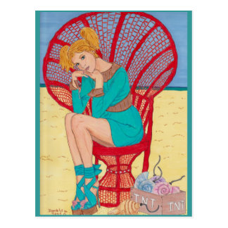 """""""The Bombshell"""" by Daedelys Postcard"""