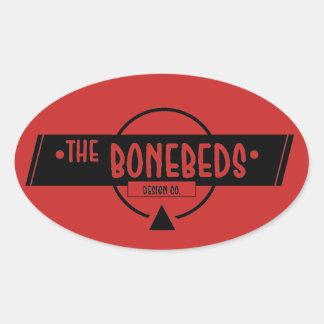 The BoneBeds Sticker (Oval)