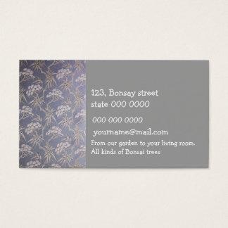 The Bonsai Store business card