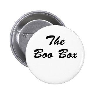 The Boo Box Pinback Button